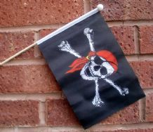 PIRATE BANDANA - HAND WAVING FLAG (MEDIUM)